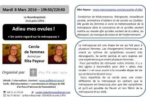 Flier Cercle Rita Payeur