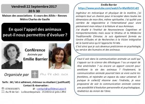 flier conference  E. Barrier