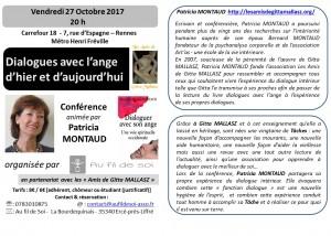 flier conference  P. Montaud