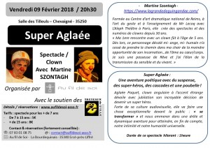 fliers A6 M. Szontagh - spectacle