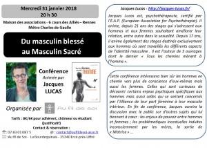 flyer conference  J .Lucas