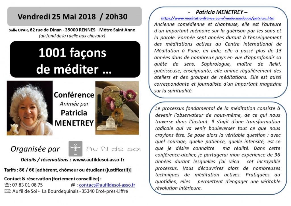 fliers A6 P.Menetrey  - conf