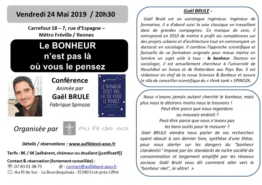 flier G. Brule - conf