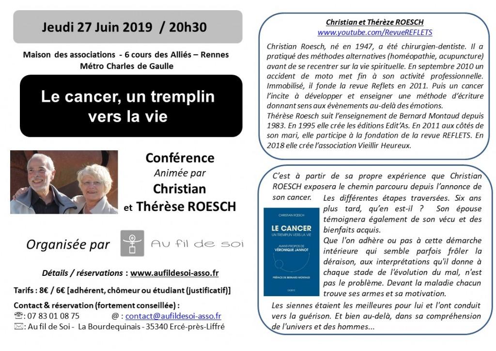 flier Roesch Cancer - conf