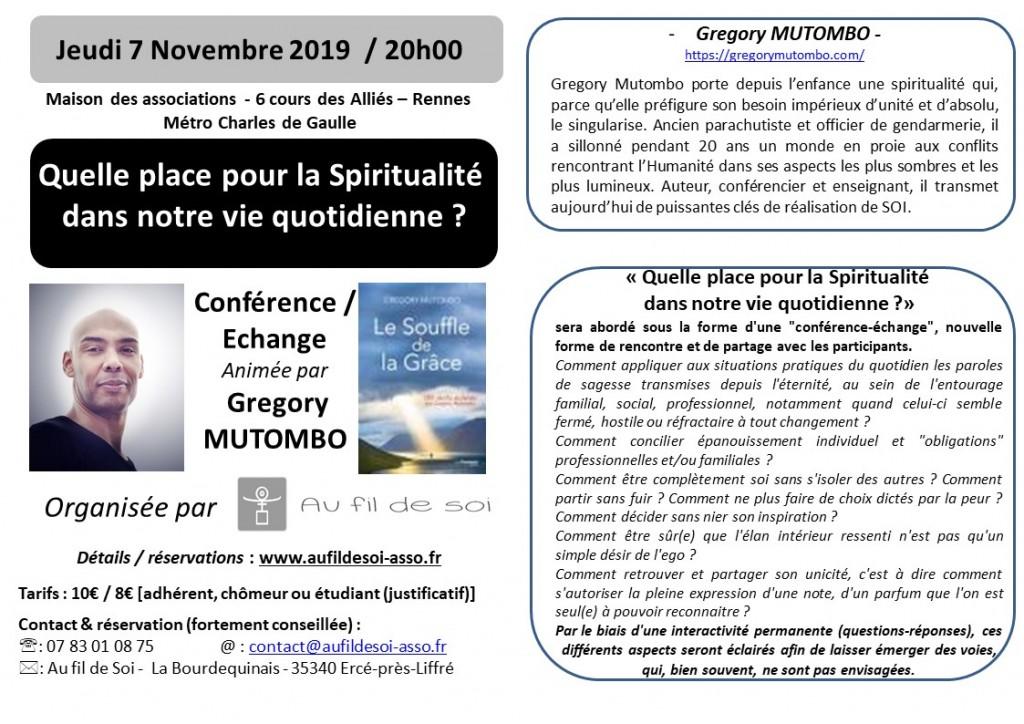 flyers A6  G. MUTOMBO