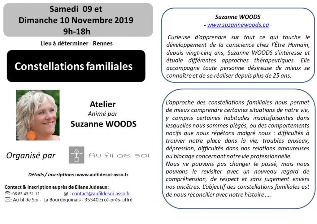 flyers A6  09&10 Novembre 2019  S. Woods