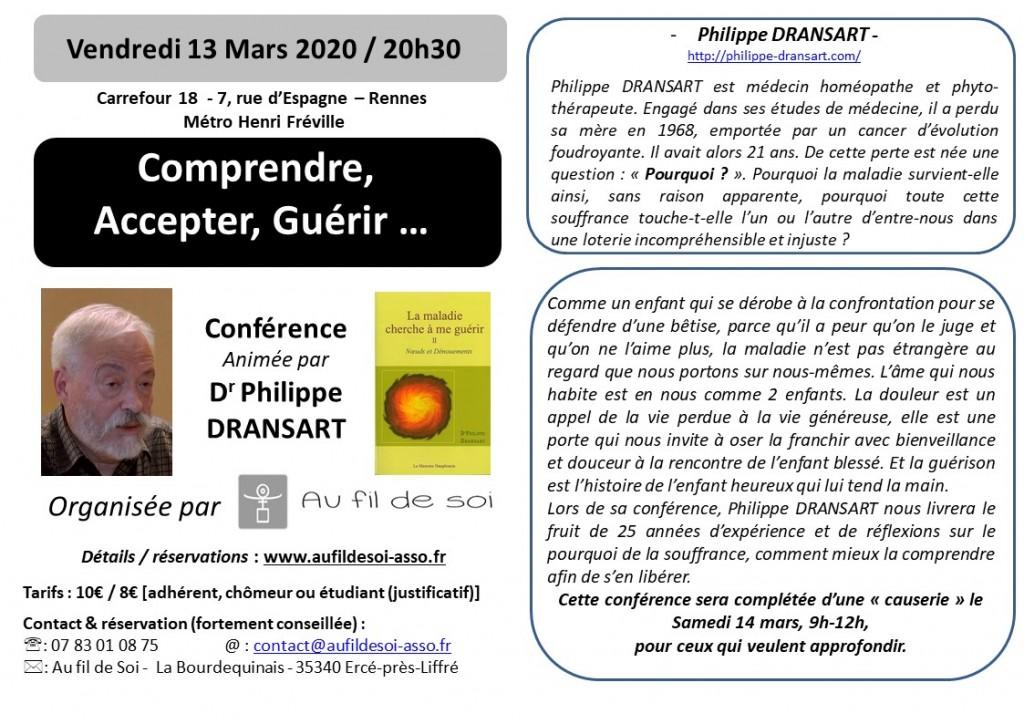 flyers A6  P. Dransart