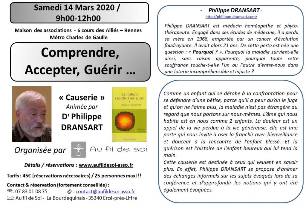 flyers A6  P. Dransart echange